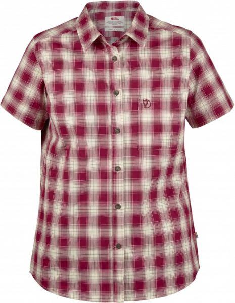 Fjäll Räven Övik Check Shirt SS W , Jagdhemd , Sommerhemd , Damenbluse , Bluse , Kariert