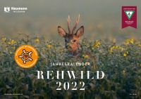 Kalender 2022, Rehwildkalender 2022, Jagdkalender, Wandkalender
