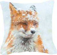 Kissen, Winter, Fuchs, Winter Fox