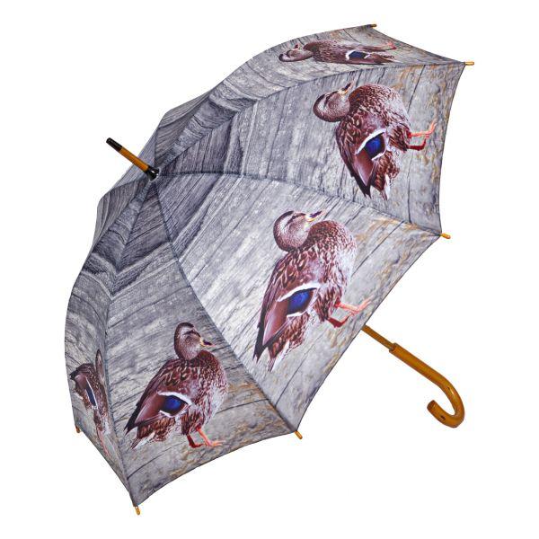Regenschirm, Motiv Ente