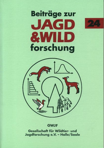 GWJF,e.,V,.Beiträge,zur.Jagd,Wildtier,Forschung,Band,24,Waffen,Muniton,Waidmann,Wildbret