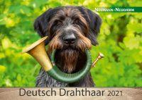 Kalender, Deutsch Drahthaar, 2021
