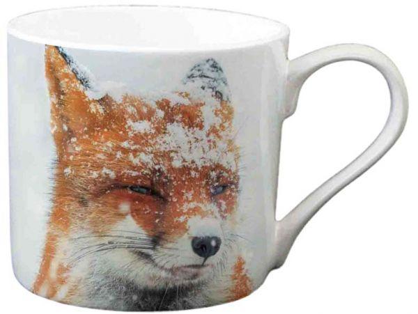 Tasse, Becher, Winter Fox, Winter, Fuchs