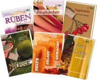 Kleine,Reihe,Rahbarber,Hagebutten,Rüben,Kochbuch,Essig,Aroma,Nüsse