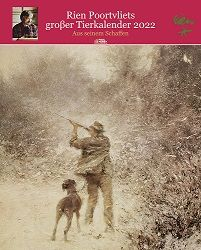 Kalender 2022, Wandkalender, Rien Poortvliet, Tierkalender