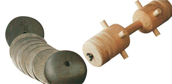 Eisenscheibe für Apportierbock, Hundeausbildung, Zubehör
