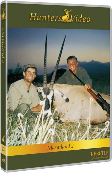 Hunters Video, Jagd in Massailand 2, DVD, Auslandjagd, Afrika, Tansania, Pirschjagd, Nationalpark