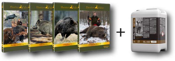 DVD, Schwarzwild, Huntersvideo, Lockmittel