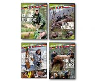 DVD, Hirschjagd, Blattjagd, Fuchsjagd, Bärenjagd