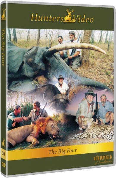 Hunters Video, The Big Four, DVD, Großwildjagd, Büffel, Leopard, Löwe, Elefant
