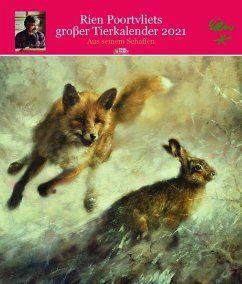 Kalender, Poortvliet, Wandkalender, Tierkalender
