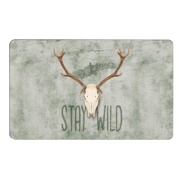 Frühstücksbrettchen, Stay Wild