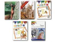 Kinderbücher, Malbücher, Ausmalbücher, Ausmalen, Malen