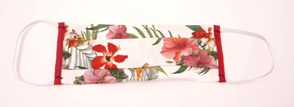 Mundschutz, Motiv Blumen, Anti Corona