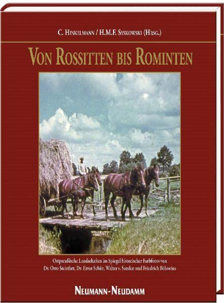 Syskowski, Von Rositten bis Rominten, Jagdbelletristik, Jagderzählungen, Ostpreußen,