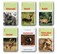 Schwarzwild, Rehwild, Rotwild, Damwild, Muffelwild, Fährten, Tierspuren, Wild ansprechen