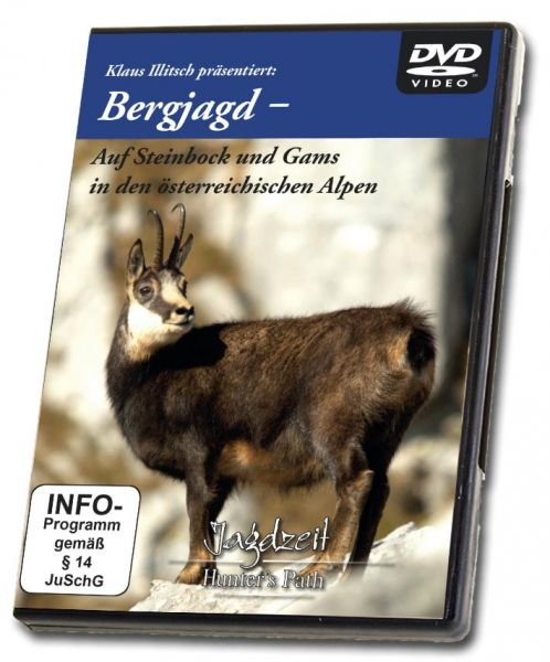 DVD, Bergjagd, Illitsch, Alpen