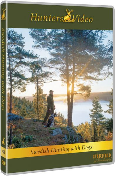 Hunters Video, Schwedische Jagd mit Hunden, DVD, Auslansjagd, Härkila, Kjell Lennartsson