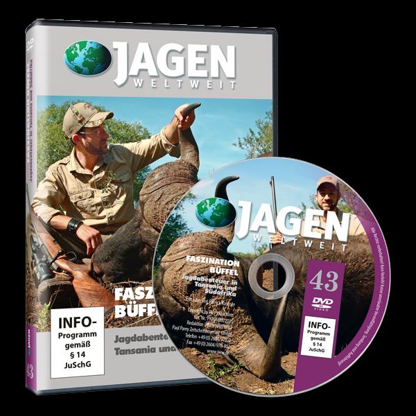 Paul, Parey, Jagen, Weltweit, NR., 43, Büffelsafari, in Tansania, und, Südafrika, Ausland,