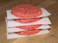 Papierzwischenlage, Burger, Burger-Presse, Hamburger