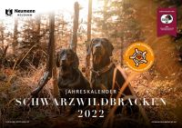 Kalender 2022, Schwarzwildbracke, Jagdkalender