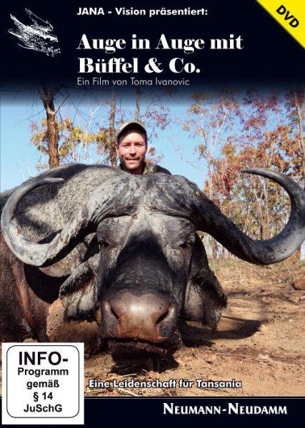 Ivanovic, Auge in Auge mit Büffel und Co., Safari, Tansania, Großwild, Afrikajäger