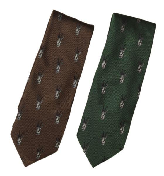 Krawatte, Motiv, Gemse,