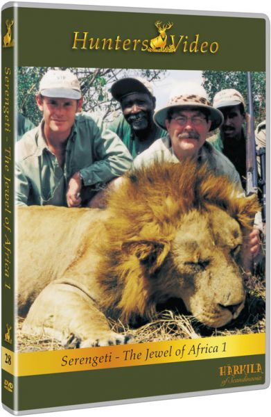 Hunters Video, Serengeti Jagd in Afrika, DVD, Auslandjagd, Afrika, Großwild,
