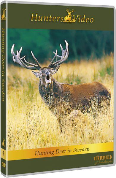 Hunters Video, Hirschpirsch und Drückjagd, DVD, Drückjagd, Ansitzjagd, Auslandjagd, Schweden, Pirsch