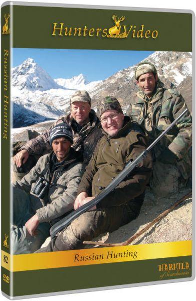 Hunters Video, Russische Jagd, DVD, Auslandjagd, Russland, Kurgan, Red Forest, Rehbock, Hirsch, Wolf