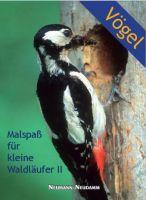 Malspaß, Vögel, Kinderbuch, Malbuch