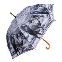 Regenschirm, Motiv Sauen