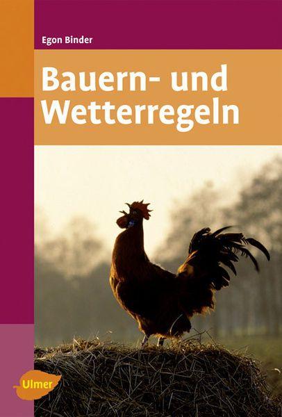 Binder, Bauern und Wetterregeln, Naturbuch,