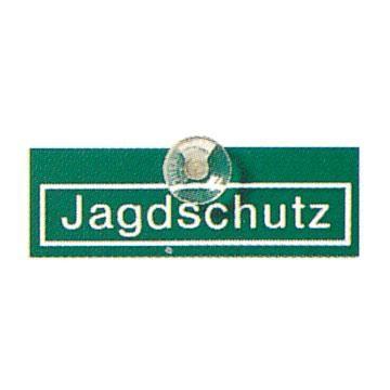 Autoschild Jagdschutz, Schild Jagdschutz