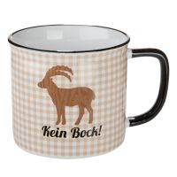 Keramiktasse, Kein Bock, Bock, Geschenk
