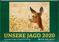 Kalender 2020, Jagd, Wandkalender, Kalender, Unsere Jagd