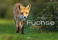Kalender 2021, Füchse, Jagdkalender