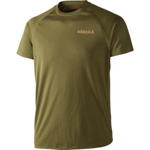 Herlet,Tech,T-Shirt,Polygien,Sommer,Winter,Jana,Jagd,Natur,Luftig,Warm,Härkila