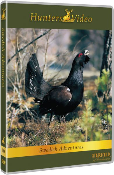 Hunters Video, DVD, Schwedische Abenteuer,Auerhahn, Elch, Skandinavien