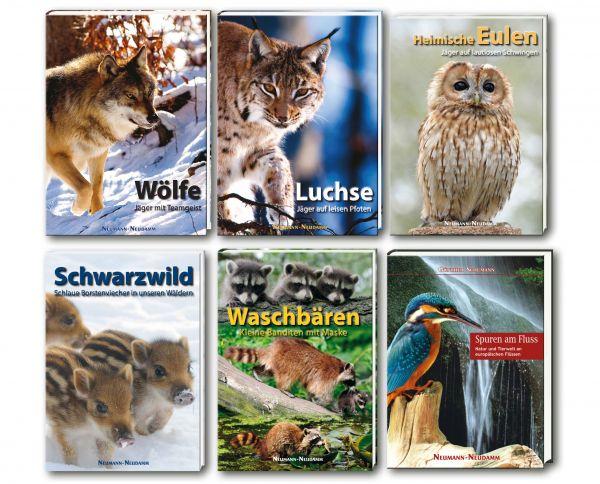 Bildbände, Wölfe, Luchse, Eulen, Schwarzwild