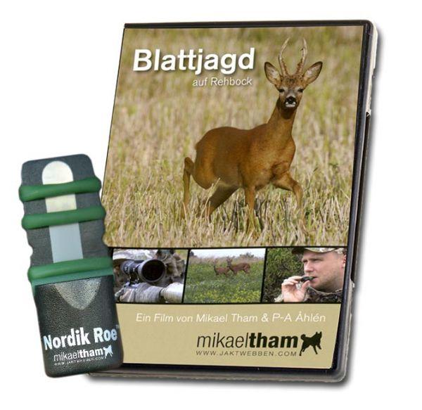 Blattjagd, Lockjagd, Rehblatter, Jagd-DVD