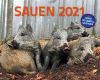Kalender, Sauen 2021, Wildsau