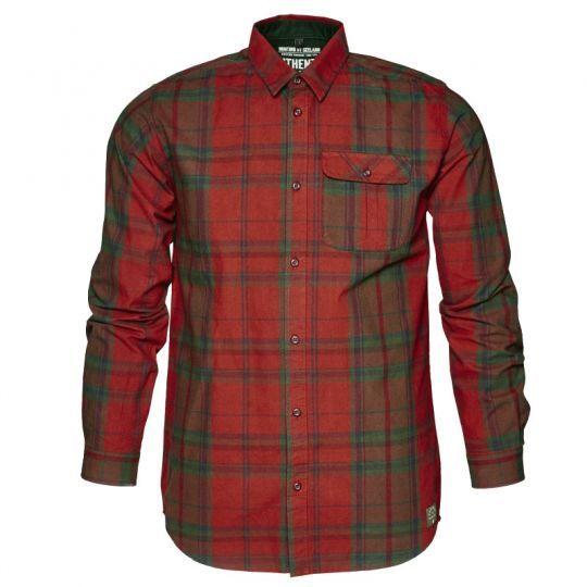 Conroy Hemd Russet Brwon Check, Hemd, Karierteshemd, Herrenbekleidung, Oberbekleidung