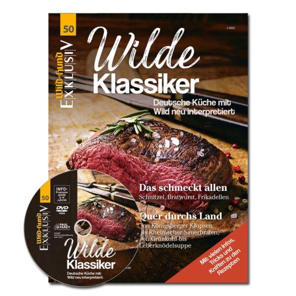 Wild&Hund, Exclusiv, Wilde KLassiker, Kochbuch, Kochzeitschrift, Wildküche