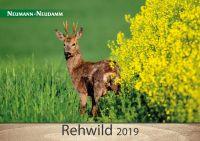 Kalender, Rehwild, Wildkalender, Jagdkalender