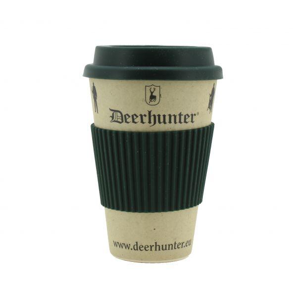 Deerhunter, Becher, Cup, Bambus