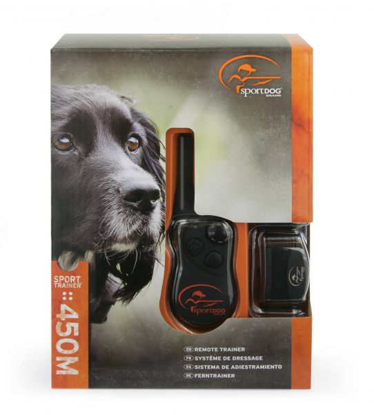 Sportdog, Ferntrainer, Halsband, 450 m