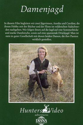 Hunters Video, Damen Jagd, Auslandjagd, Schweden, Flinte, Büchse, Drückjagd