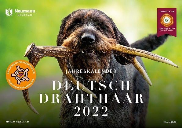 Kalender, Kalender 2022, Deutsch Drahthaar, Drahthaarkalender