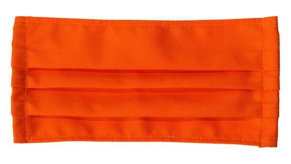 Mundschutz, orange, Baumwollmunschutz, Mund- Nasenschutz